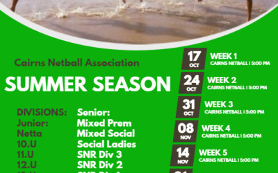 SUMMER SEASON INFORMATION!!