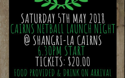 Cairns Netball Launch Night 2018